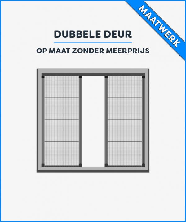 Prijs dubbele deur